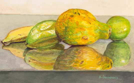 Tropical Fruits giclee fine art reproduction